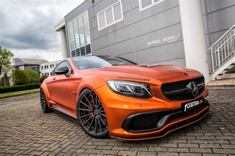 matt mercedes 740hp orange chrome matt mercedes amg s63 by fostla de