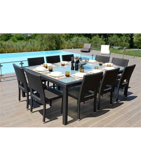 tavolo da giardino rattan tavolo giardino con sedie in rattan sintetico barbados