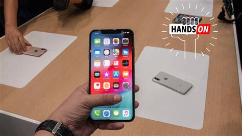 apple iphone xs max on just how big is it