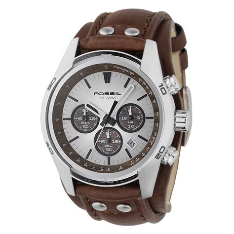 fossil fossil s trend chronograph cuff ch2565