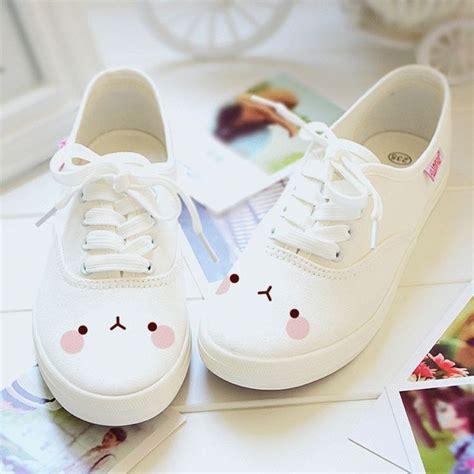Sandal Wanita Fav Kawai White Fav Shoes de 25 bedste id 233 er inden for kawaii p 229 plysdyr fimo og rilakkuma