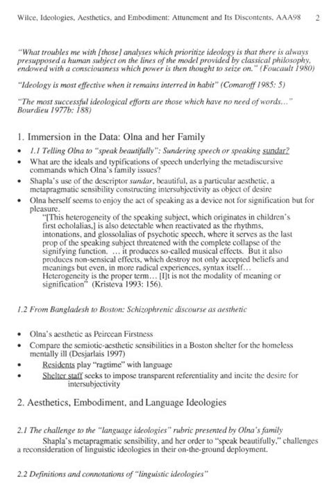 layout seminar paper research and publications