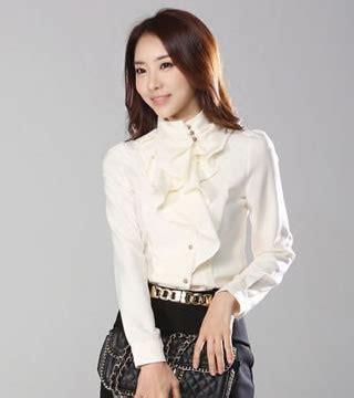 Special Baju Korea Dress Korea Import Chiffon 855 Terbaru kemeja kerja bl2589 white tamochi toko baju wanita