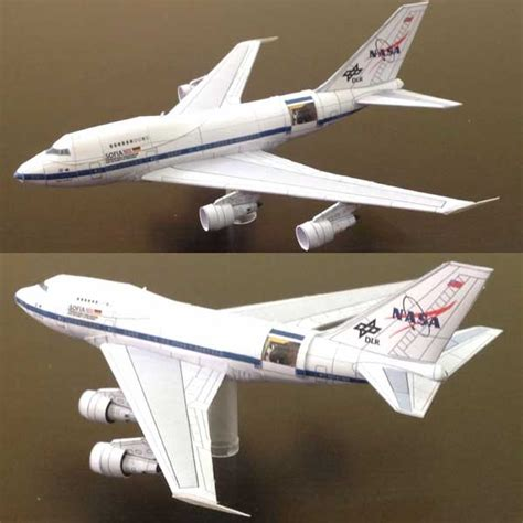 Papercraft Aircraft - papercraftsquare new paper craft boeing b 747sp dlr