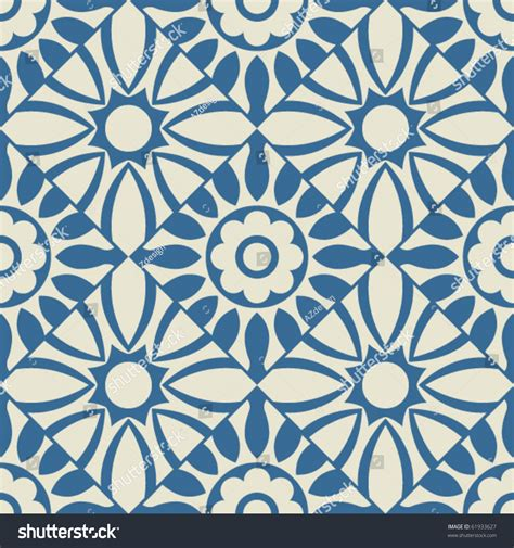 shutterstock pattern repeating blue textile design stock vector illustration