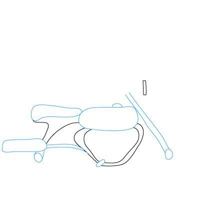 Motorrad Lernen by Motorrad Zeichnen Lernen Schritt F 252 R Schritt Tutorial