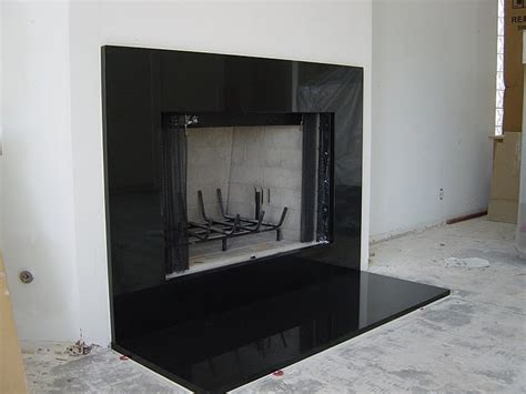 Black Fireplace Surround by Black Marble Fireplace Surround Interior Exterior Doors