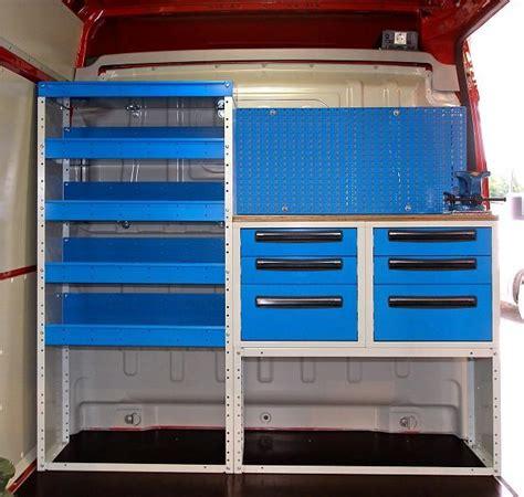 scaffali usati per furgoni banchi officina usati