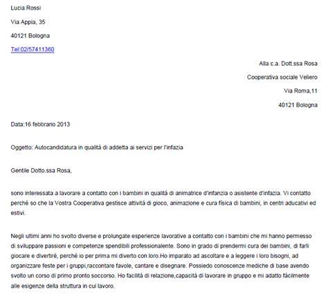 ejemplo de carta de presentaci 243 n en italiano con autocandidatura ejemplos de carta