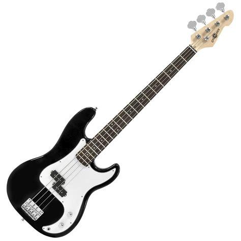 la bass guitar by gear4music black at gear4music