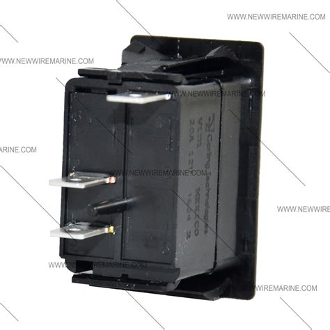 on marine rocker switch carling v1d1 new wire marine