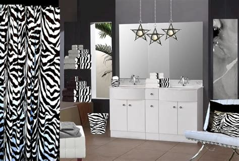 Home Decorating Ideas Zebra Print Zebra Print Bathroom Decor And Accessories Home Interiors