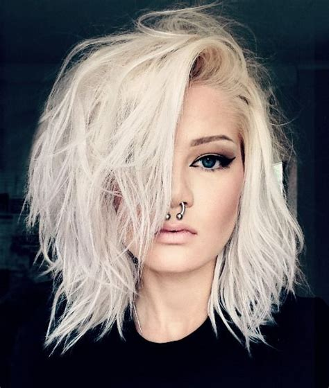blonde edgy hairstyles best 25 edgy blonde hair ideas on pinterest long bob