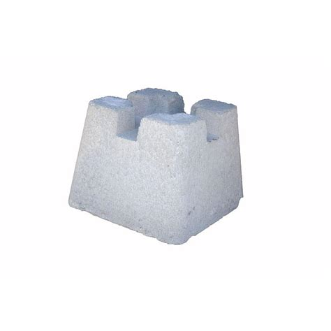 Home Depot Deck Blocks 10 in x 10 in x 8 in concrete deck block 012023a the home depot