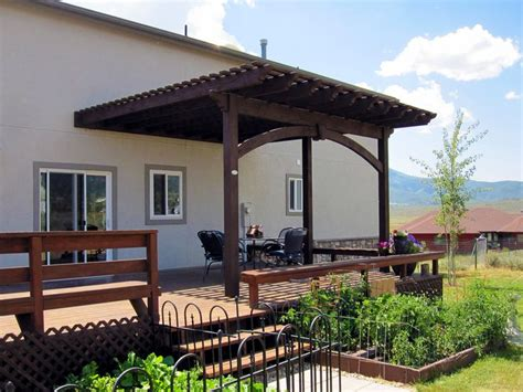 attached pergola kits 77 best attached pergolas images on attached