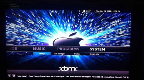Change Wallpaper Xbmc Apple Tv | apple tv 2 how to change xbmc background and use custom