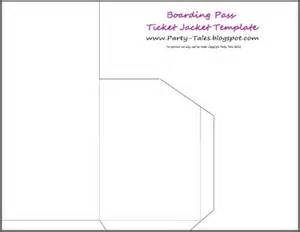 boarding pass sleeve template tales march 2012