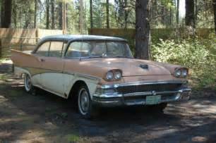 1958 Ford Fairlane Fair Deal For This 1958 Ford Fairlane
