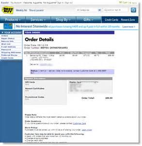 samsung 52 inch hdtv 9 99 at bestbuy purchase receipt