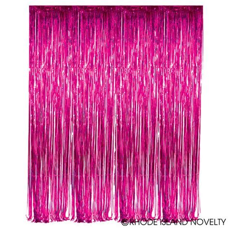 foil fringe curtains foil fringe curtains fuchsia 7