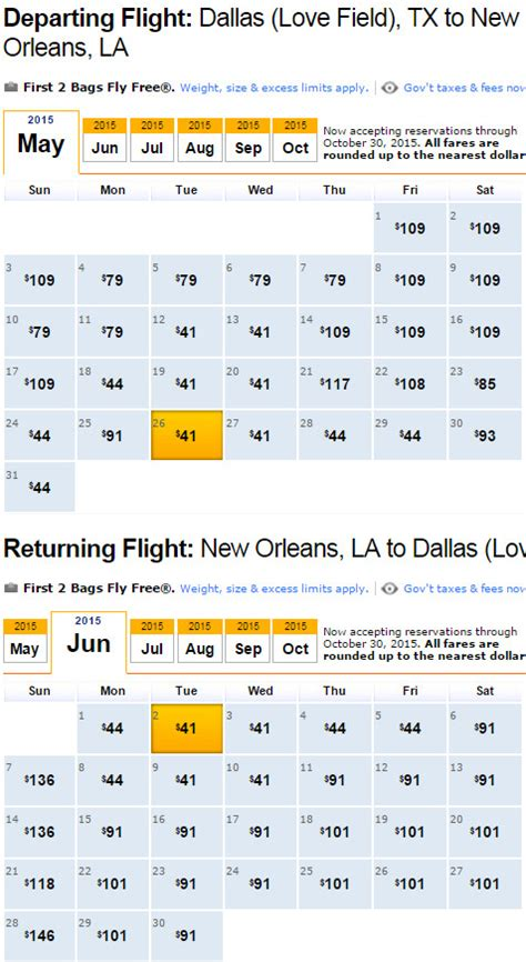 cheap flights dallas to from new orleans 82 r t southwest others