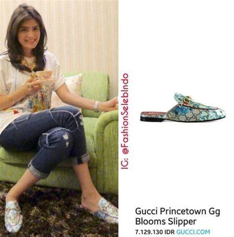 Paling Murah Wedges Gucci Mr93 Hitam 1 7 artis cantik ini lebih milih til sederhana dengan sendal daripada heels tapi harganya duh