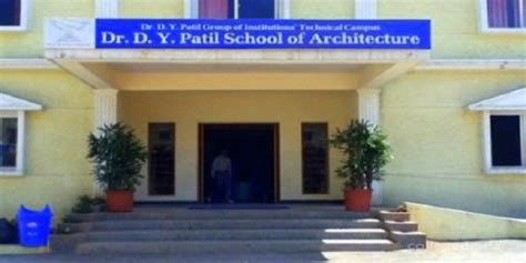 Dy Patil Akurdi Mba Fees by Dr Dy Patil School Of Architecture Charholi Pune