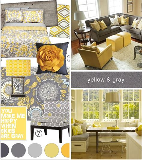 gray and yellow home decor 17 best ideas about gray yellow bedrooms on pinterest