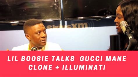 lil boosie illuminati boosie talks gucci mane clone rumor illuminati