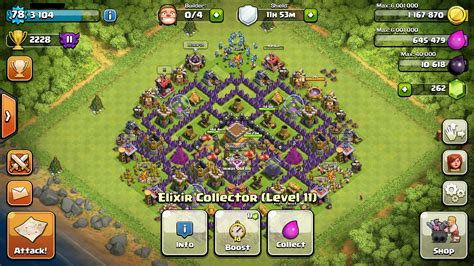 coc layout hybrid level 8 town hall hybrid base www imgkid com the image
