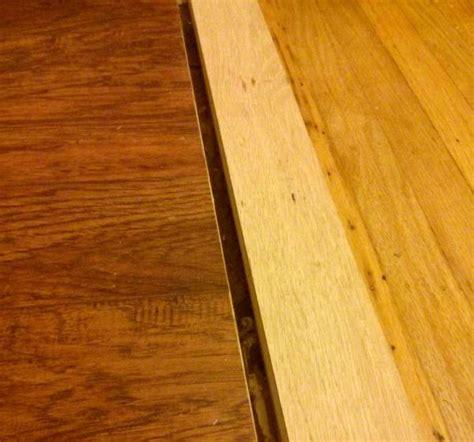 transition/reducer between hardwood and laminate