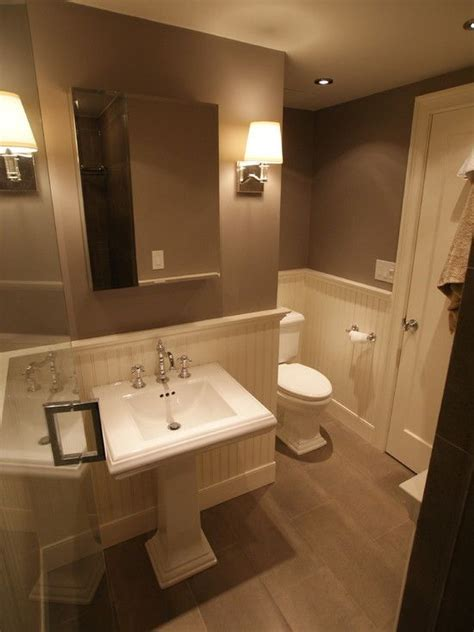 Wainscoting In Bathroom Design, Pictures, Remodel, Decor