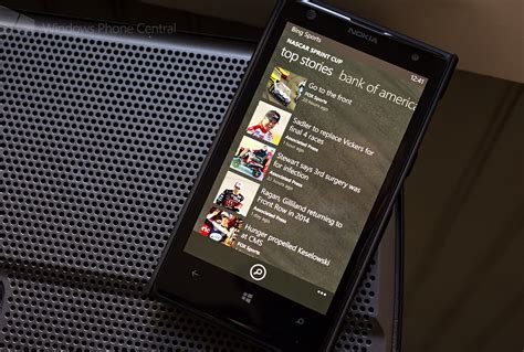 bing sports bing sports for windows phone 8 updated delivers new