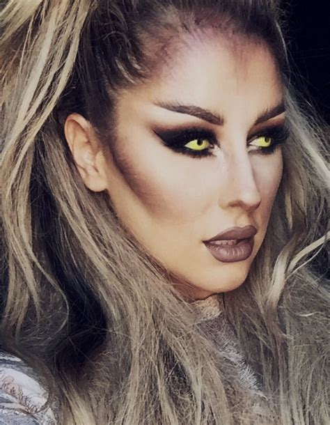 halloween makeup tutorial werewolf helovyno makiažo triukai oz design home