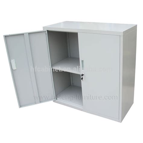 small metal stationery cupboard mini file cabinet half