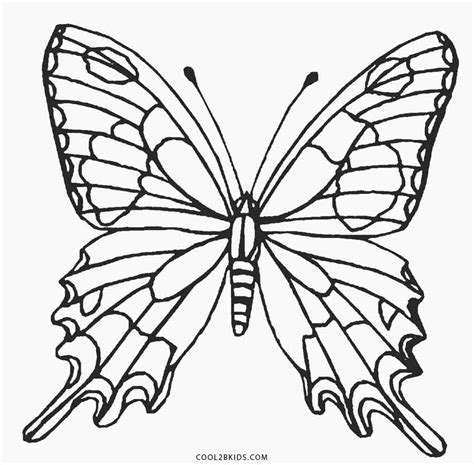 coloring page for butterfly printable butterfly coloring pages for kids cool2bkids
