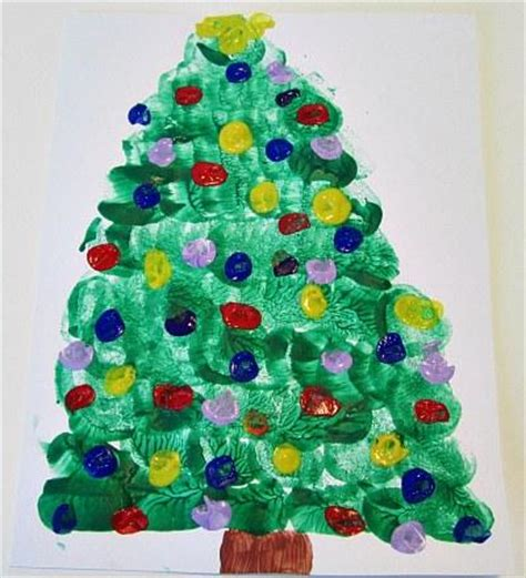 preschool crafts for kids 15 easy christmas tree crafts