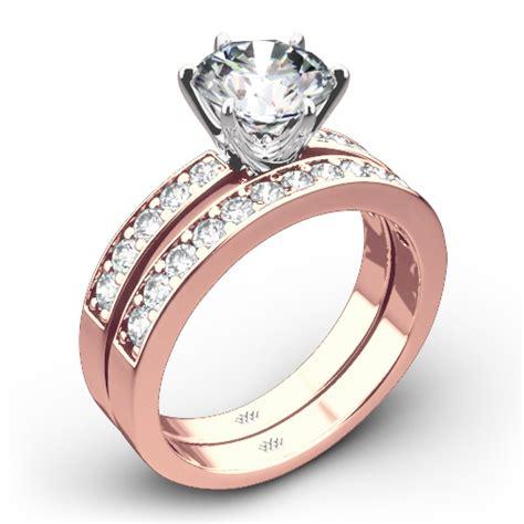 bead set diamonds style quot bead set quot wedding set 4805