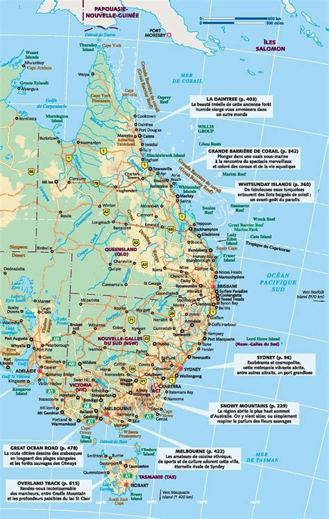 road map of eastern australia www mappi net maps of countries australia
