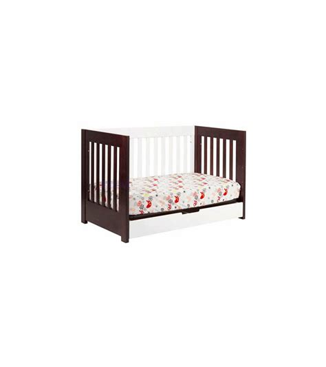 babyletto mercer 3 in 1 convertible crib in espresso white