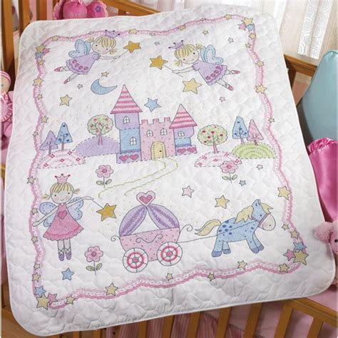 Cross Stitch Baby Quilt Patterns new cross stitch baby quilts birth record kits images frompo