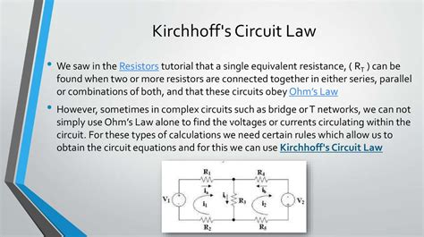kirchhoff s for inductor kirchhoff s laws1 презентация онлайн