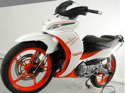 Lu Tembak Motor Jupiter Z yamaha all new jupiter z1 konsep racing modifikasi