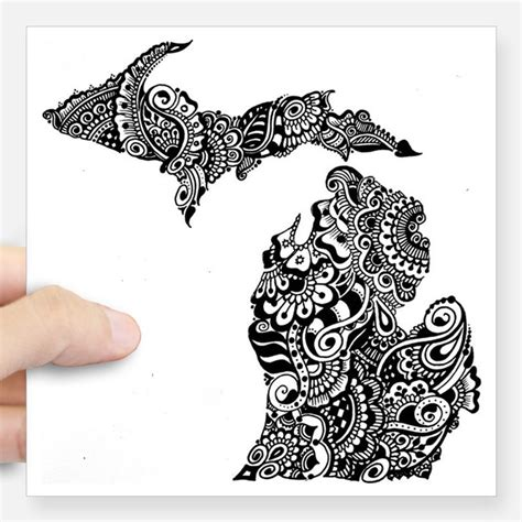 tattoo prices michigan michigan mitten bumper stickers car stickers decals more