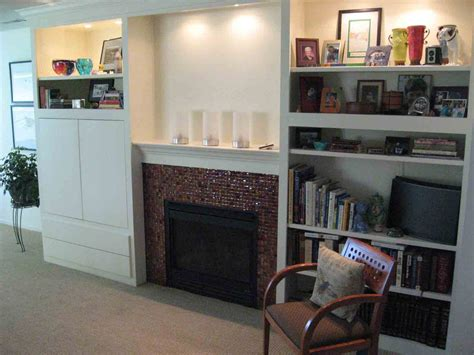 Built In Cupboards Next To Fireplace by High Resolution Cabinets Around Fireplace 7 Craftsmen