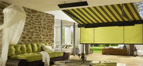 veranda für wohnwagen sonnensegel design terrasse