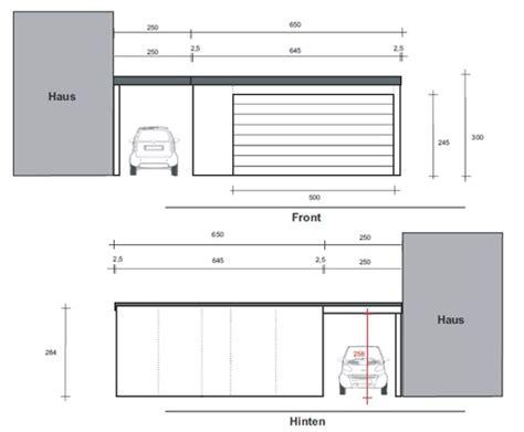 garage zeichnung eine fertiggarage mit sonderma 223 en in solingen steht eine