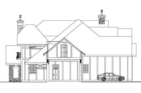 tudor house elevations chateau house plans picardie villa 30 676 associated
