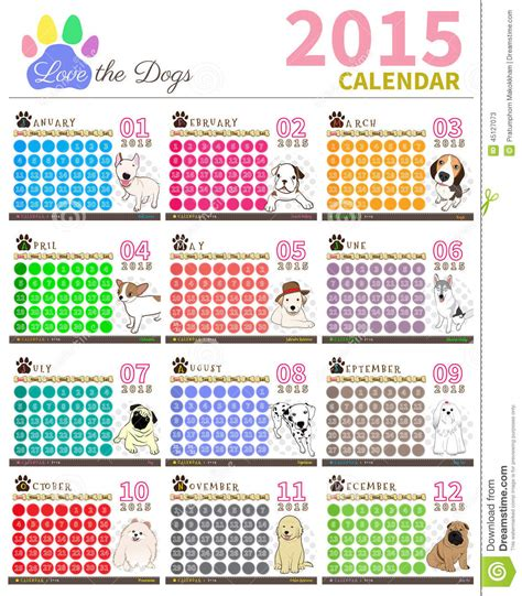 Calendario De Cachorro Ame O Calend 225 2015 Set1 Do C 227 O