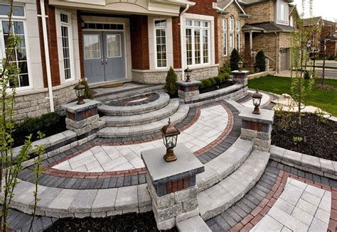 Home Driveway Design Ideas entryways steps and courtyard whitby on photo